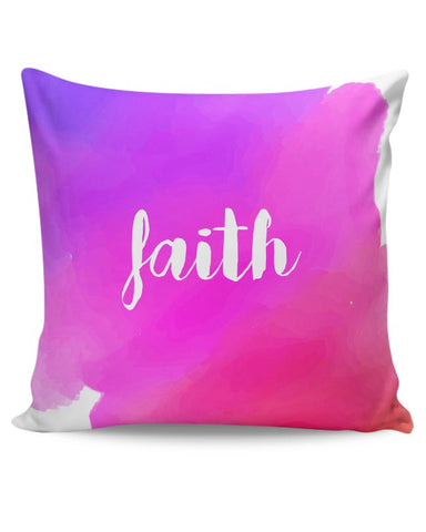 Faith - Watercolor Cushion Cover Online India