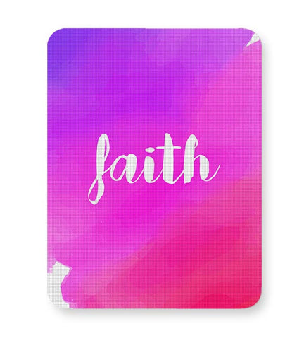 Faith - Watercolor Mousepad Online India