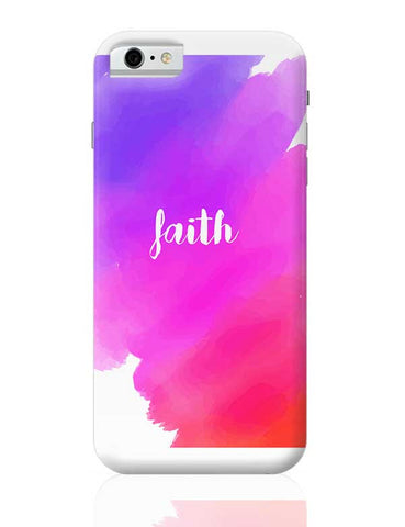Faith - Watercolor iPhone 6 / 6S Covers Cases