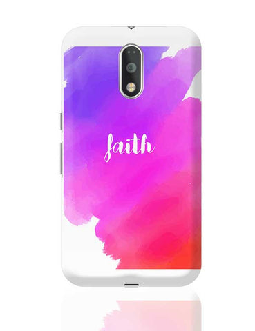 Faith - Watercolor Moto G4 Plus Online India