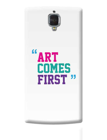 Art Comes First OnePlus 3 Covers Cases Online India