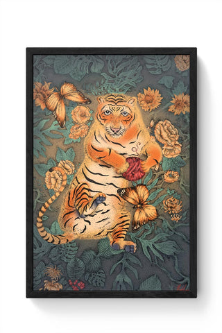 Bengal Tiger Framed Poster Online India
