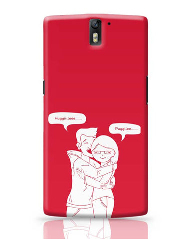 Expression Of Love OnePlus One Covers Cases Online India