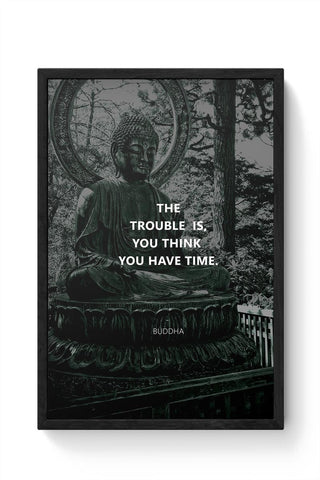 Buddha Quotes Framed Poster Online India