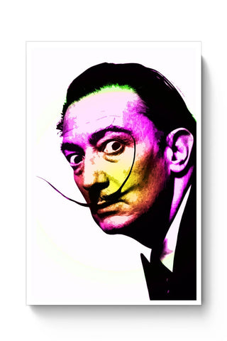 Dali Awesome Mustache Pop Art Poster Online India