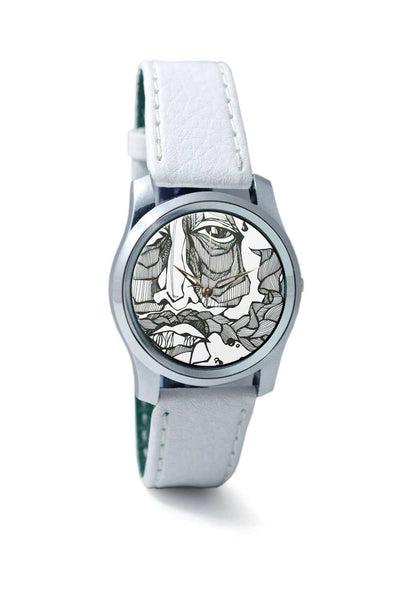 Women Wrist Watch India | Wanderer doodle art Wrist Watch Online India