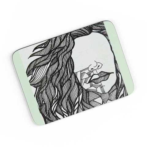Her Doodle art A4 Mousepad Online India