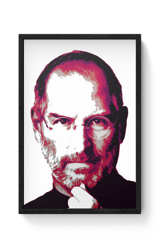 Steve Jobs Framed Poster Online India