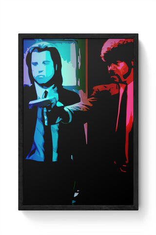 pulp fiction Framed Poster Online India