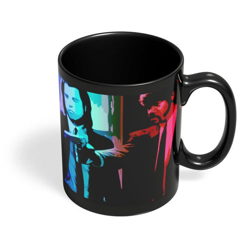 pulp fiction Black Coffee Mug Online India