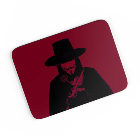 v for vendetta  A4 Mousepad Online India