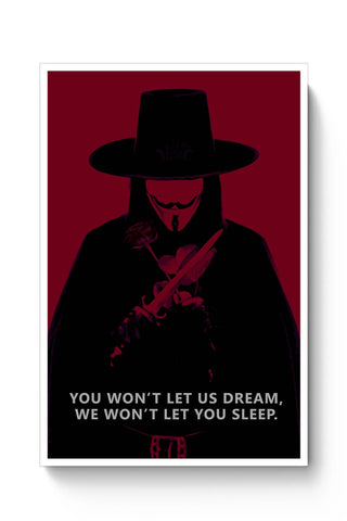 v for vendetta  Poster Online India
