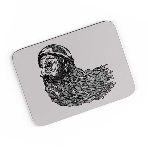 Beard God A4 Mousepad Online India