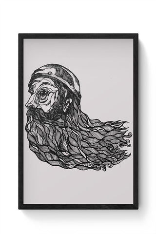 Beard God Framed Poster Online India