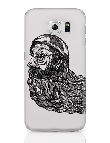 Beard God Samsung Galaxy S6 Covers Cases Online India