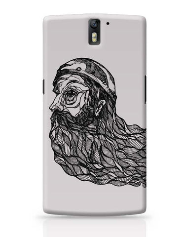 Beard God OnePlus One Covers Cases Online India