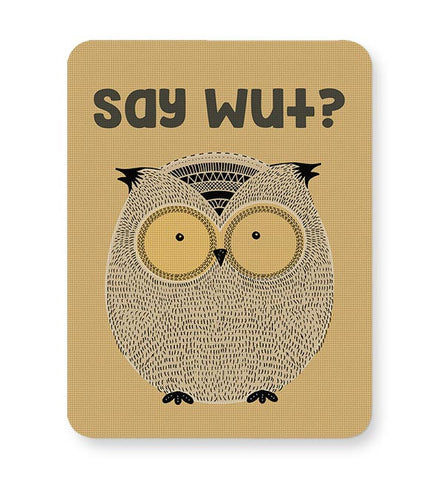 WTF owl Mousepad Online India