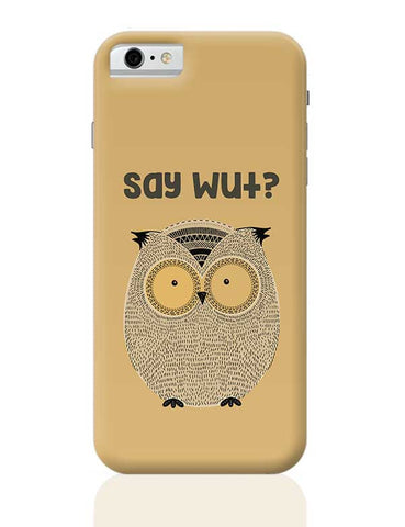 WTF owl iPhone 6 / 6S Covers Cases