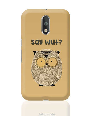WTF owl Moto G4 Plus Online India