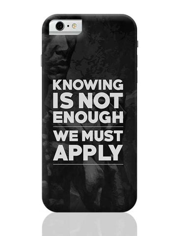 Knowledge iPhone 6 / 6S Covers Cases