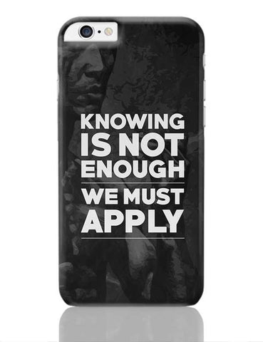 Knowledge iPhone 6 Plus / 6S Plus Covers Cases Online India