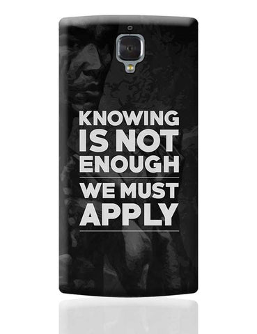 Knowledge OnePlus 3 Covers Cases Online India