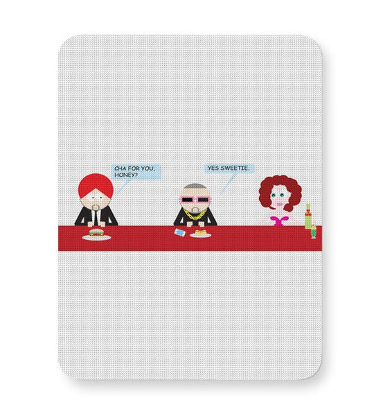 Cha For You Honey | Funny Mousepad Online India