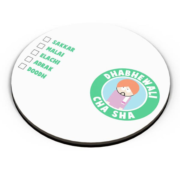 Dhabhewali Cha Sha Fridge Magnet Online India
