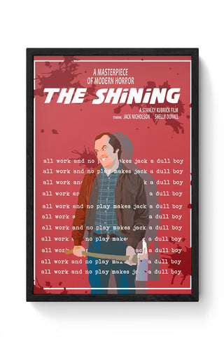The Shining  Framed Poster Online India