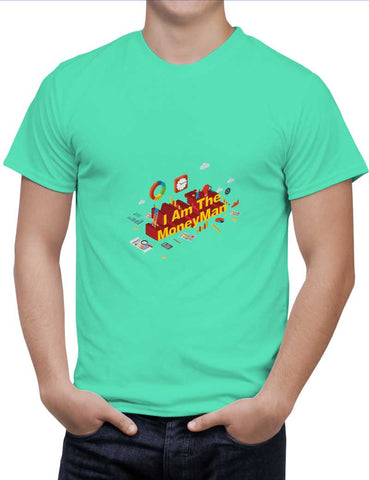 Buy The Moneyman Woman T-Shirts Online India | The Moneyman T-Shirt | PosterGuy.in
