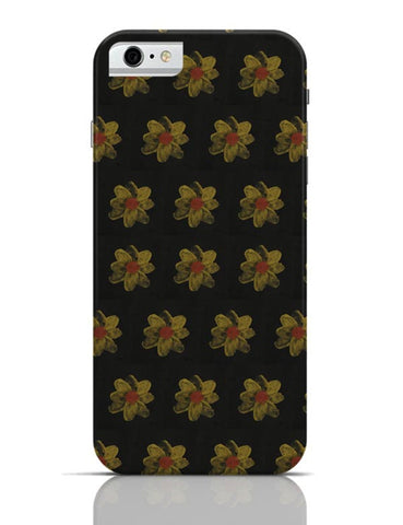 golden flowers iPhone 6 / 6S Covers Cases