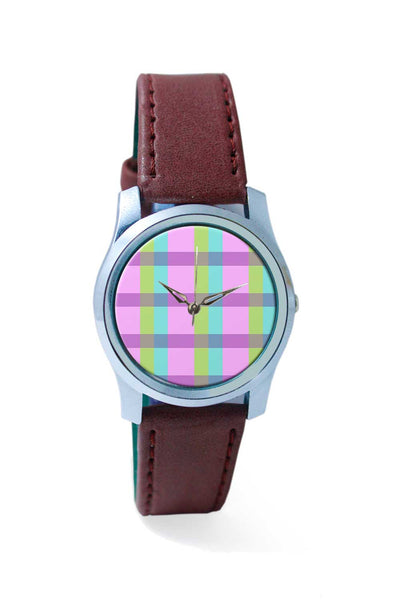 Women Wrist Watch India | stripes pastel Wrist Watch Online India