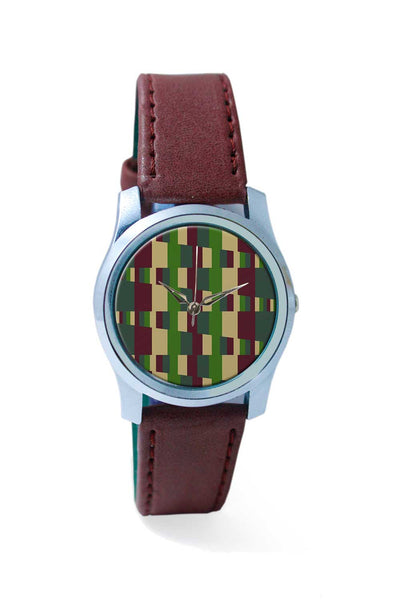 Women Wrist Watch India | zig zag military block Wrist Watch Online India