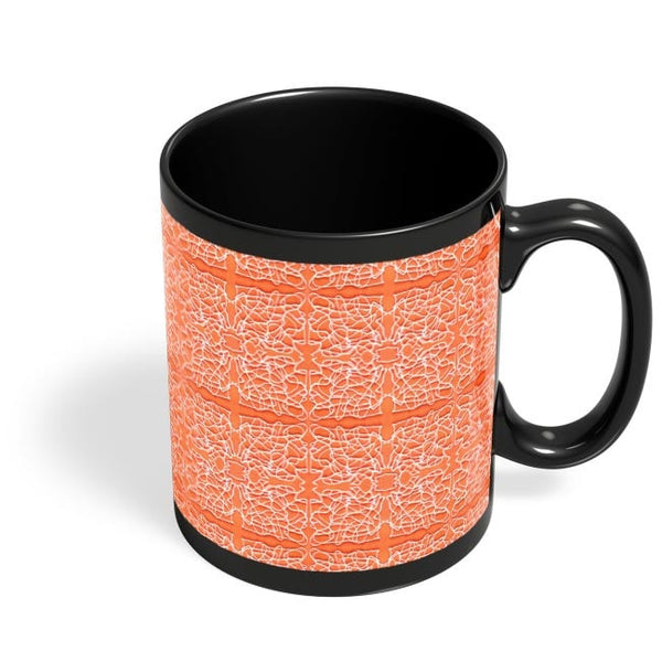 Abstract Lines Black Coffee Mug Online India