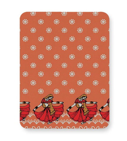 Rajastani Shades,Women,Traditional,Indian,Classic,Block Print,Rural Mousepad Online India