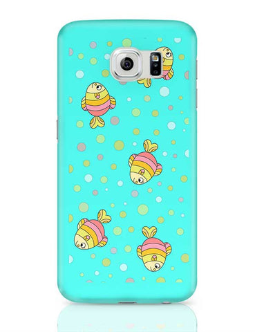 aqua fishy Samsung Galaxy S6 Covers Cases Online India