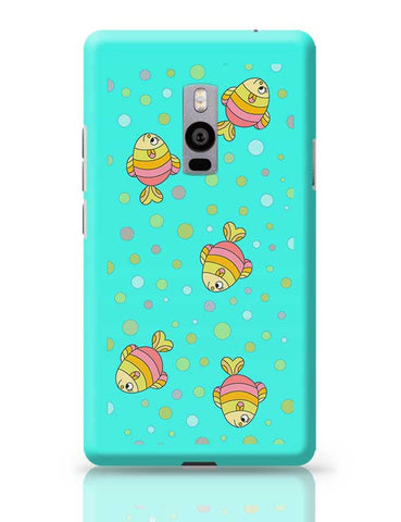 aqua fishy OnePlus Two Covers Cases Online India