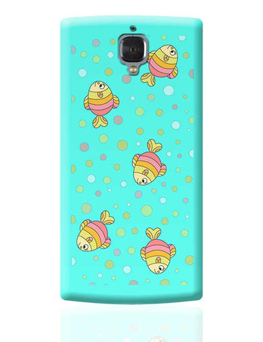 aqua fishy OnePlus 3 Covers Cases Online India