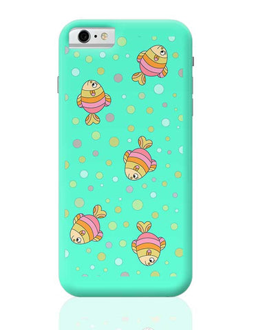 aqua fishy iPhone 6 / 6S Covers Cases