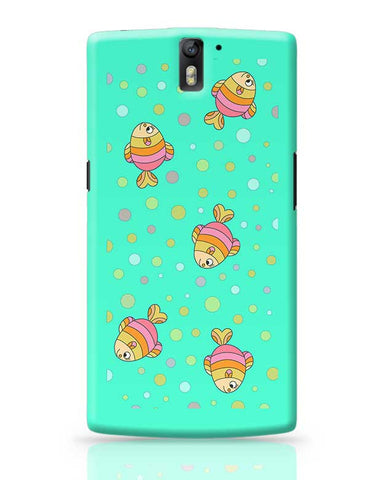 aqua fishy OnePlus One Covers Cases Online India