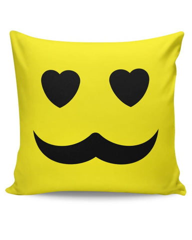 love man mustache Cushion Cover Online India