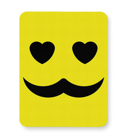 love man mustache Mousepad Online India