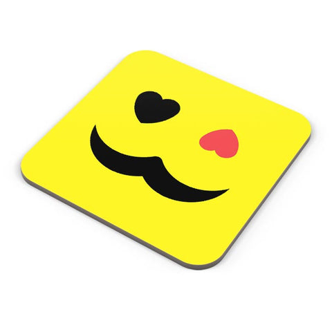 love sight man mustache Coaster Online India