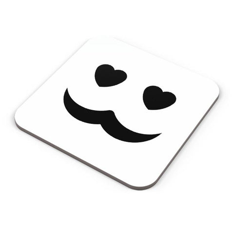 love man mustache Coaster Online India