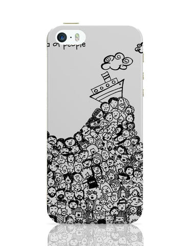 Sea Of People iPhone Covers Cases Online India