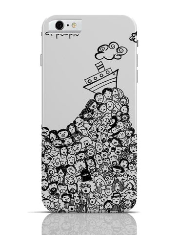 Sea Of People iPhone 6 6S Covers Cases Online India