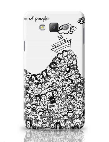 Sea Of People Samsung Galaxy A7 Covers Cases Online India