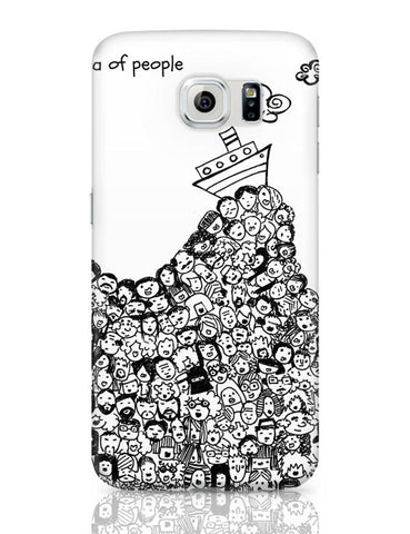 Sea Of People Samsung Galaxy S6 Covers Cases Online India