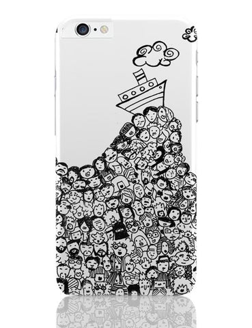 Sea Of People iPhone 6 Plus / 6S Plus Covers Cases Online India