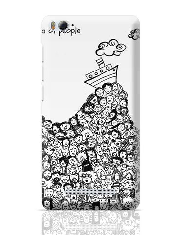Sea Of People Xiaomi Mi 4i Covers Cases Online India